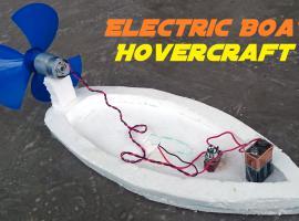 Jak zrobić pływającą zabawkę - łódka z silnikiem