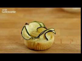Jak zrobić prostą przekąskę - róża z cukinii