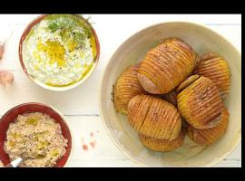 Jak zrobić pieczone ziemniaki harmonijkowe