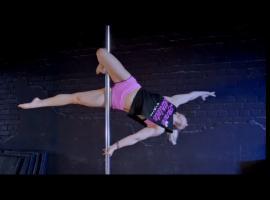 Jak nauczyć się Flat Liner w pole dance