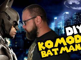 Jak przerobić starą komodę - pomysł dla fana Batmana