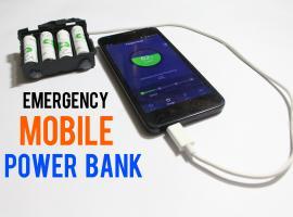 Jak zbudować awaryjną ładowarkę na baterie do telefonu