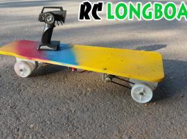 Jak zbudować longboard napędzany wkrętarką