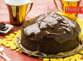 Jak zrobić czekoladowe ciasto ... na oranżadzie