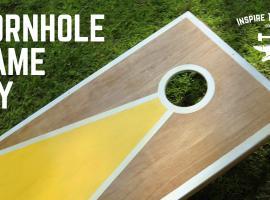 Jak zrobić prostą grę do ogrodu - Fasolowe Rzutki