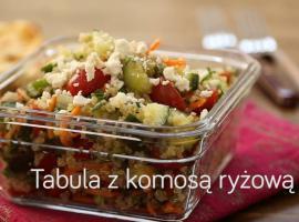 Jak zrobić sałatkę tabbouleh z komosą ryżową