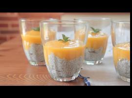 Jak zrobić coś na deser - pudding chia z mango