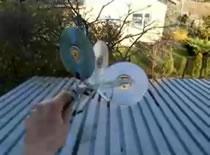 Jak wykonać wiatromierz z niepotrzebnych płyt CD/DVD