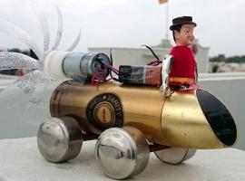Jak zbudować zabawkę napędzaną wiatrakiem