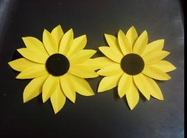 Jak zrobić słonecznika z papieru