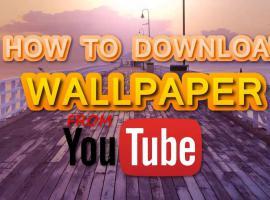 Jak pobrać tapetę z YouTube