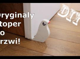 Jak zrobić stoper do drzwi - tanie DIY