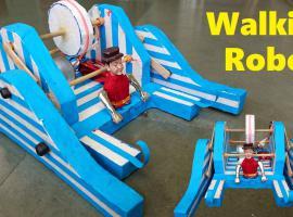 Jak zbudować chodzącego robota w bardzo prosty sposób