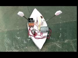 Jak zbudować bardzo prostą łódeczkę na silniczek
