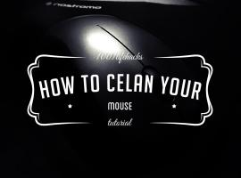 Jak wyczyścić myszkę komputerową