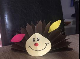 Jak zrobić jeżyka z papieru - zabawka dla dziecka