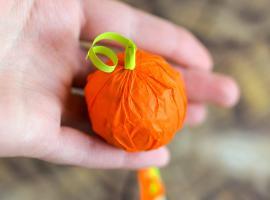 Jak przygotować słodycze na Halloween - lizaki