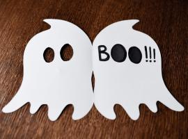 Jak zrobić kartę na Halloween - duszek