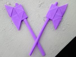 Jak zrobić papierowy topór - proste origami