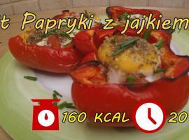 Jak zrobić papryki z jajkiem