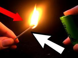 Jak zrobić zapalniczkę z baterii