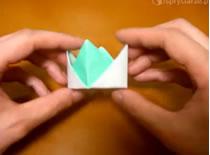 Jak złożyć koronę origami