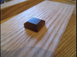 Jak zrobić drewnianą zaślepkę w kształcie kwadratu
