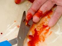 Jak zrobić efekt uciętego palca - Halloween