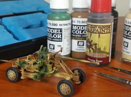 Jak pomalować armatę przeciwlotniczą