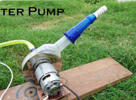 Jak zrobić pompę wodną sporej mocy z łatwo dostępnych części
