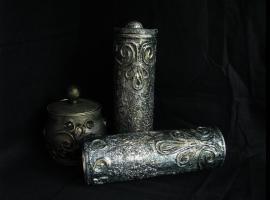 Jak wykonać pudełko imitujące stare srebro