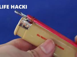 Jak zrobić 4 genialne mini narzędzia z zapalniczek