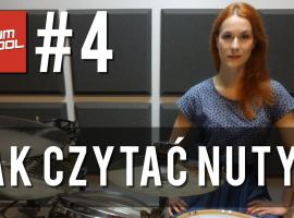 Jak nauczyć się grać na perkusji #4 - czytanie nut perkusyjnych