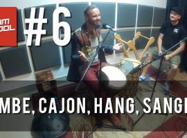 Jak nauczyć się grać na perkusji #6 - Djembe, Hang, Cajon, Sangban