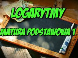 Jak opanować logarytmy - matura podstawowa #1