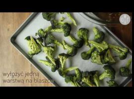 Jak zrobić pieczone brokuły z czosnkiem i cytryną