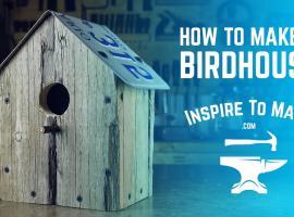 Jak zbudować prosty domek dla ptaków ze starych palet