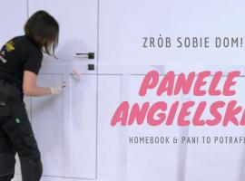 Jak zmienić wygląd mieszkania - angielskie panele DIY