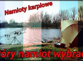 Jak skompletować sprzęt wędkarski - namioty