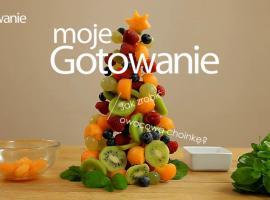 Jak zrobić choinkę z owoców