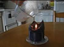 Jak zgasić ogień niewidzialnym gazem