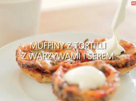 Jak zrobić muffiny z tortilli z warzywami i serem