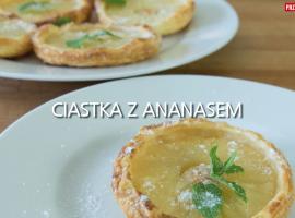 Jak przygotowac coś dobrego - ciastka z ananasem