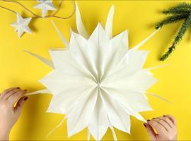 Jak zrobić gwiazdę z torebek papierowych