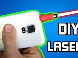 Jak zrobić laser do telefonu