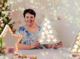 Jak wykonać świecącą gwiazdę i witrażowe choinki