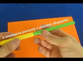 Jak wykorzystać długopis - 4 kreatywne pomysły