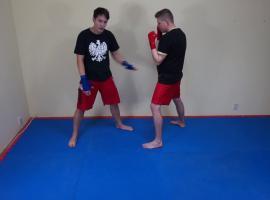 Jak trenować boks - kontra bezpośrednia