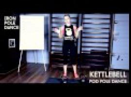 Jak wzmocnić ręce i plecy - kettlebell w pole dance