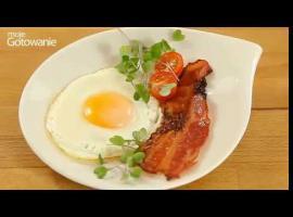 Jak zrobić amerykańskie śniadanie - mega chrupiący boczek